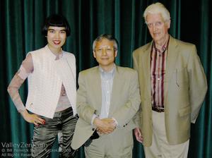 Drue Kataoka, Hiroshi Ishii and Bill Fenwick