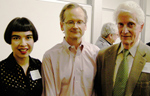 Drue, Larry Lessig and Bill Fenwick