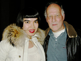 Werner Herzog and Drue Kataoka