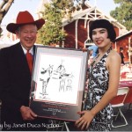 Bill Land and Drue's painting of the Red Barn